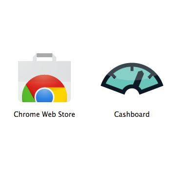 cashboard on the chrome web store